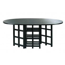 Mesa de comedor Mackintosh CRM004