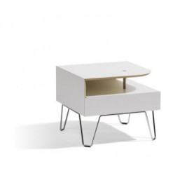 Qvarto Table L10 Corner - Bla Station