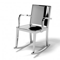 Hudson Rocking Chair With Arms HUDROC-A Emeco