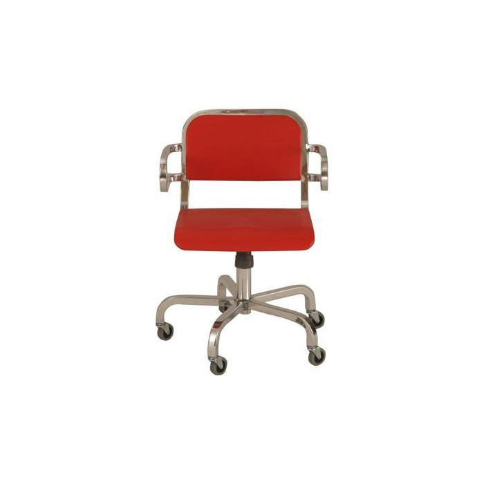 Nine 0 Swivel Armchair NIN0 SWV-3A Emeco