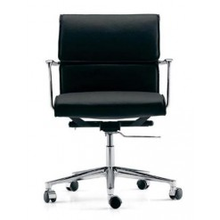 Una Executive Armchair Wheels - ICF