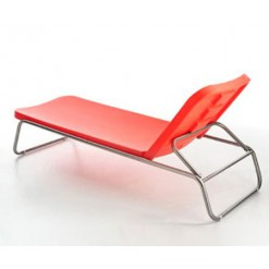 Time out reclining chaise longue - Serralunga