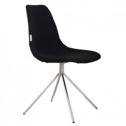 Silla moderna tapizada en lana FOURTEEN UP