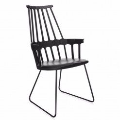 Silla Comback 5950 Kartell trineo