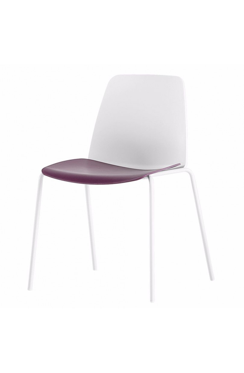 silla unnia 4 patas de inclass loftchair